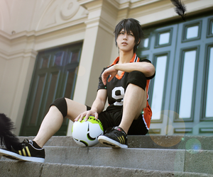 haikyuu and cosplay image