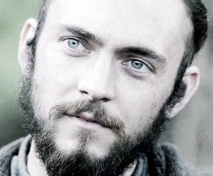beard, eyes, and athelstan image