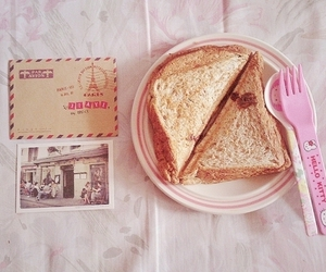 food, hello kitty, and pastel image