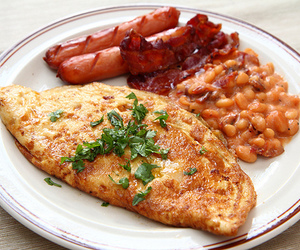 bacon, beans, and breakfast image