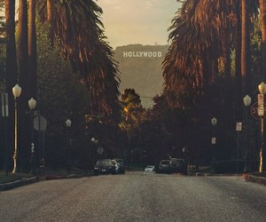 hollywood and road image