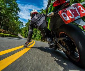 road, bike, and speed image