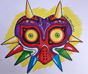 fan art, majoras mask, and draw fashion image