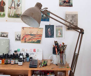 art and desk image