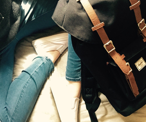 backpack, bag, and beauty image
