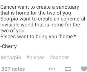 astrology, water signs, and cancer image
