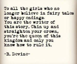 girl, fairytale, and quotes image