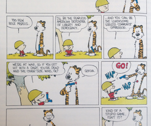 calvin, comic, and draw image