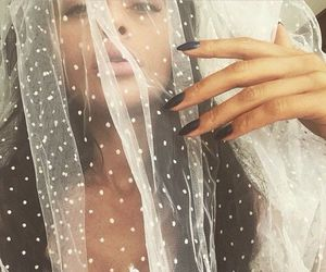 amazing, wedding, and black nails image