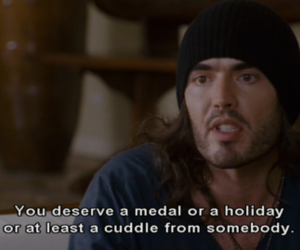 cuddle, quote, and russell brand image