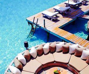 luxury, summer, and paradise image