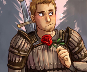 rose, dragon age, and alistair image