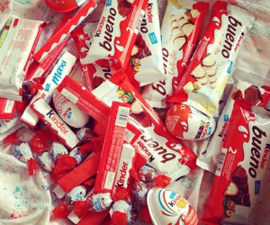 chocolate, kinder, and food image
