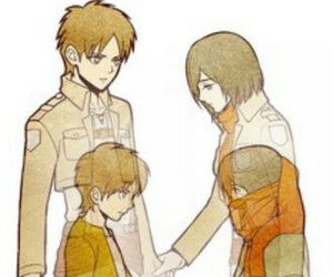 brothers, shingeki no kyojin, and mikasa ackerman image