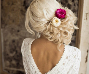 beauty, brides, and fashions image