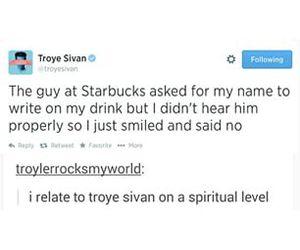funny, lol, and troye sivan image