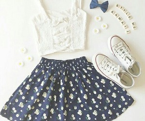 beauty, girl style, and outfit image