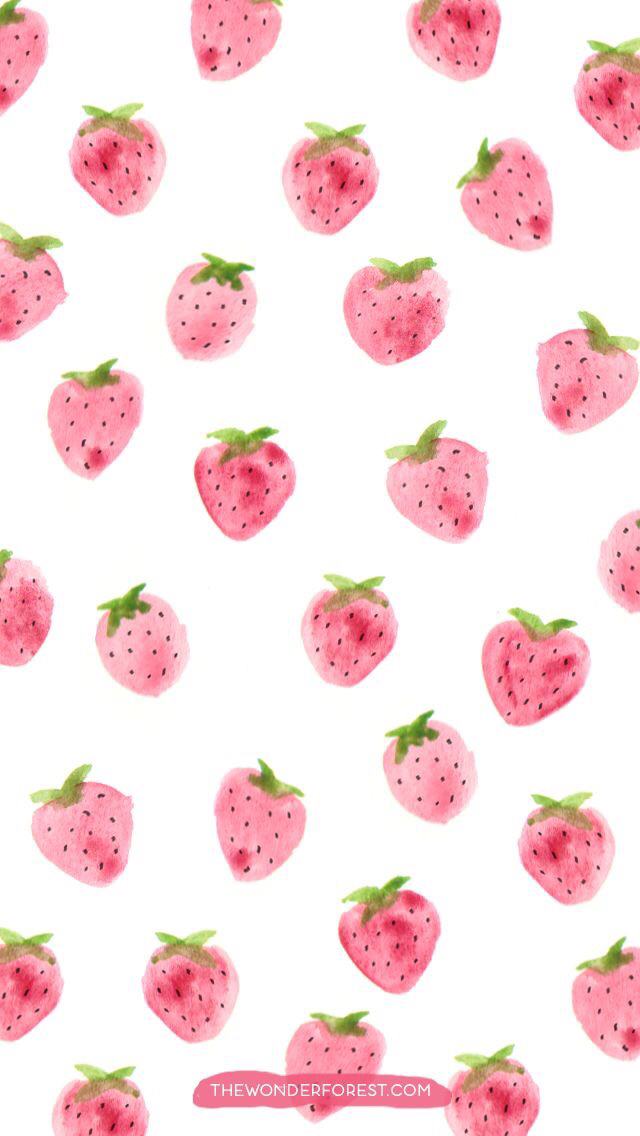 Strawberry Wallpaper Discovered By Conan1412 On We Heart It