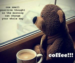 coffee, morning, and positive image