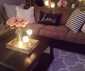 comfortable, home, and lamp image