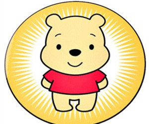 cute and winnie the pooh image