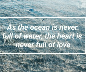ocean, love, and grunge image