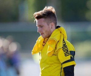 marco reus, bae, and boy image