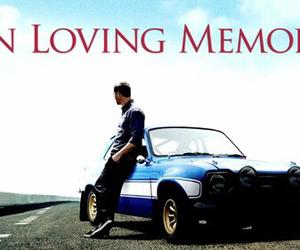 paul walker, rip, and love image