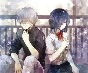 anime, touka, and kaneki image
