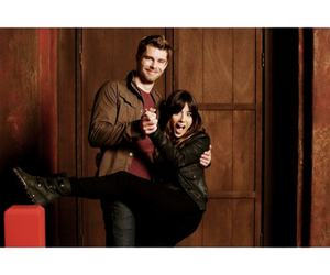 luke mitchell, agents of shield, and chloe bennet image