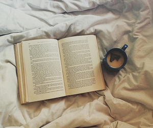 coffee, hipster, and bed image