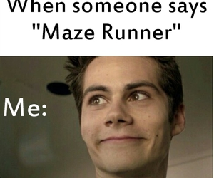 boys, maze runner, and funny image