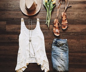 fashion, hat, and clothes image