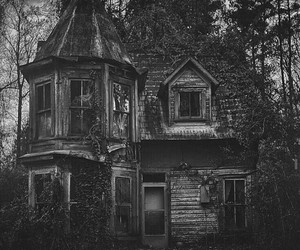 house and dark image