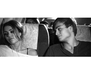 miley cyrus, douglas booth, and love image