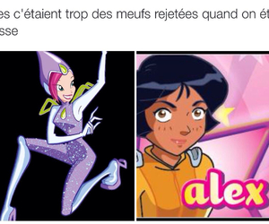 true, totally spies, and les winx image