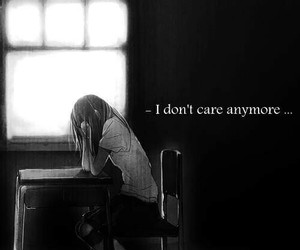 alone, anime, and care image