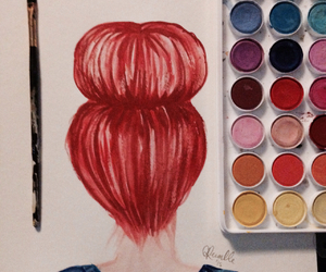 ariel, grunge, and painting image