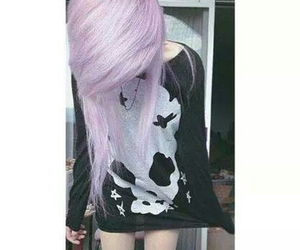 fashion, girl, and pastel goth image