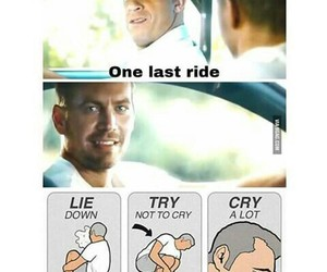 cry and paul walker image