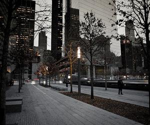 city, street, and light image