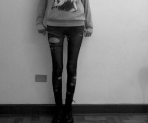 skinny, thinspo, and grunge image