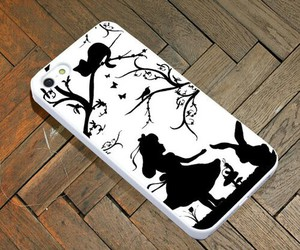 alice in wonderland and iphone case image