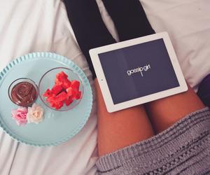 gossip girl, chocolate, and girl image