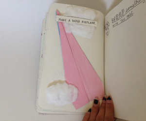 wreckthisjournal and paperairplane image