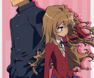 anime, couple, and ♥ image
