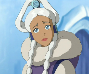 avatar, the legend of aang, and yue image