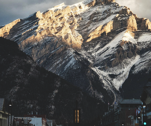 mountains, nature, and city image
