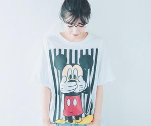 korean fashion, t-shirt, and ulzzang image
