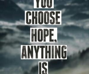 hope, possible, and quote image